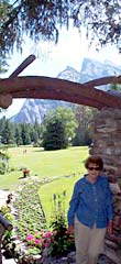 View from Banff Cascade Rock Garden